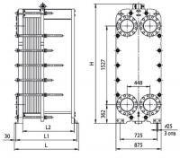 Уплотнения теплообменника Ридан НН 130 Пушкин грунтовый теплообменник рекуператор