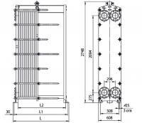 Пластины теплообменника Ридан НН 14 Пушкин Кожухотрубный конденсатор Alfa Laval CRF213-5-S 2P Рязань