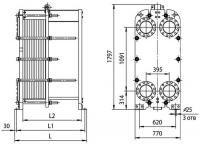Пластинчатые паяные теплообменники ONDA серии S222D Петропавловск-Камчатский
