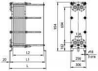 Пластины теплообменника Ридан НН 14 Пушкин Пластины теплообменника Alfa Laval M15-MFM Саранск